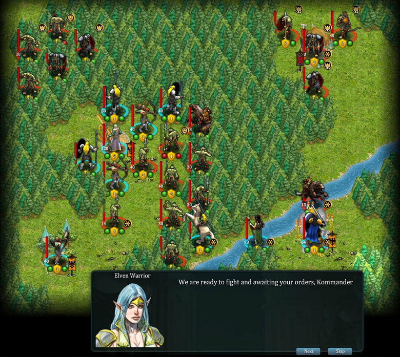Fantasy Kommander screenshot1